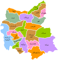 East Azarbaijan counties.png