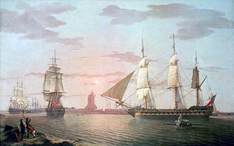Battle of Pulo Aura - Image: East Indiaman Warley (adjusted)
