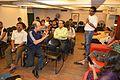 Editing Session - Wikilearnopedia - Oxford Bookstore - Kolkata 2015-08-23 3562.JPG