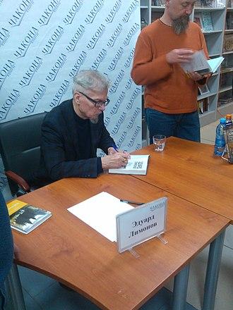 Eduard Limonov - Eduard Limonov in Samara, 2018