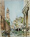 Edward Darley Boit - Rio di San Barnaba, Venice - Google Art Project.jpg