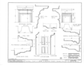 Edwards-Webb House, 303 Monroe Street, Northwest; moved from 259 South Street, Southeast, Warren, Trumbull County, OH HABS OHIO,78-WAR,2- (sheet 6 of 7).png