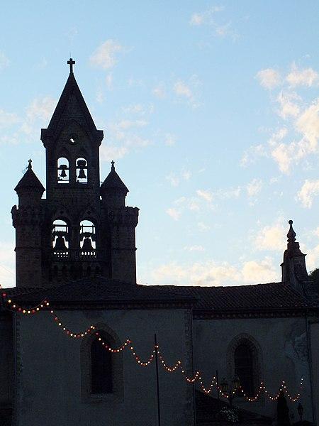 Église Saint Etienne, Seix (09)