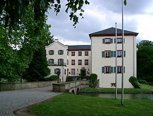 Angelbachtal - The town hall is located in the castle at Eichtersheim.