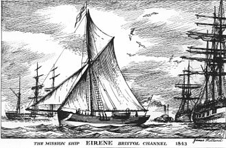 The Mission to Seafarers - The ship Eirene in Bristol in 1856