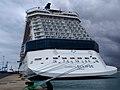 """El megacrucero """" Celebrity Eclipse"""", en el Puerto de la Luz y de Las Palmas.Gran Canaria (4641589307).jpg"""