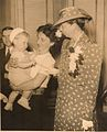 Eleanor Roosevelt visiting the Washington Book Shop circa 1940.jpg