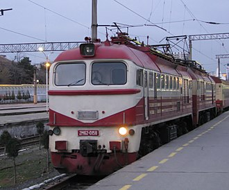 Azerbaijan Railways - Electric locomotive