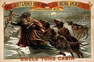 Tom show - Image: Eliza Crossing the Ice Morgan 1881