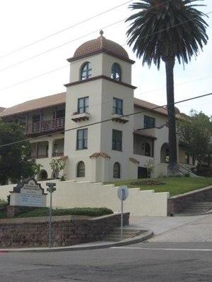 National Register of Historic Places listings in Ventura County, California - Image: Elizabeth Bard Memorial Building 2008july sm