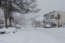 Elkton, Maryland 2009 Blizzard.jpg