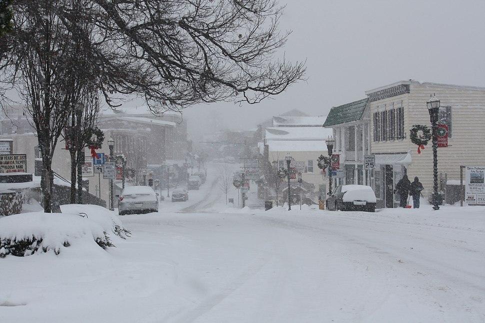 Elkton, Maryland 2009 Blizzard