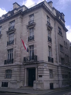 Embassy of Sudan, London - Image: Embassy of Sudan in London 1