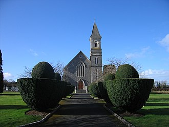 County Laois - A church in Emo