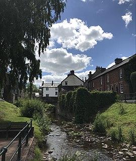 Talgarth Human settlement in Wales