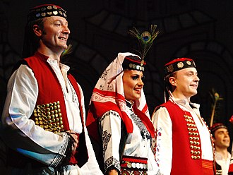 Serbs of Bosnia and Herzegovina - National costumes of Serbs from Krajina