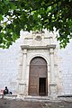 Entrée de l'Eglise du monastère San Salvador - Urdazubi - Urdax.jpg