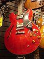 Epiphone Dot, Guitar shop, Vancouver.jpg