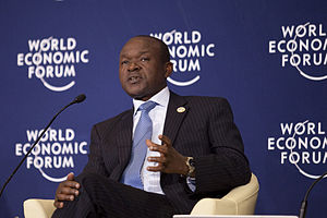 Erastus J. O. Mwencha - Mwencha at the World Economic Forum on Africa in 2012