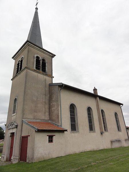 Erbéviller-sur-Amezule (M-et-M) église