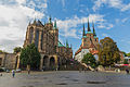 Erfurter Dom, Domplatz und Details vom Dom (02).jpg
