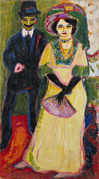 Ernst Ludwig Kirchner - Image: Ernst Ludwig Kirchner Dodo und ihr Bruder