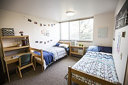 Standard dorm room in the Escalante Complex
