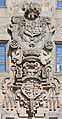 Escudo na Praza de Mazarelos, Santiago de Compostela.jpg