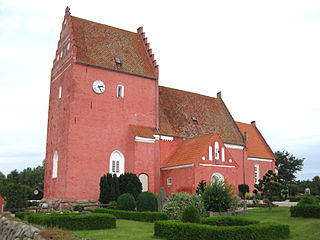 Eskilstrup Church Church in Falster, Denmark