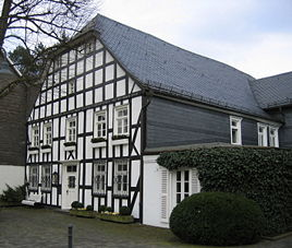 Timbered house in Eslohe