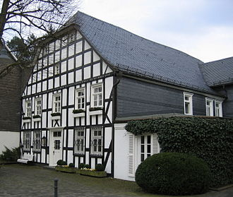 Eslohe - Timbered house in Eslohe