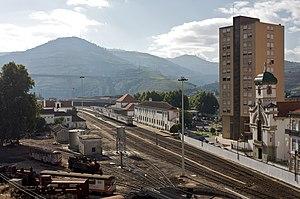 Peso da Régua - The railway station in Peso da Régua