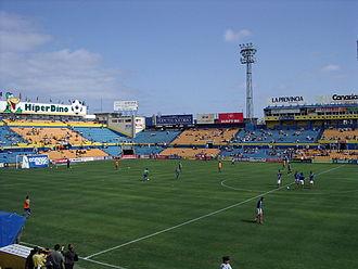Estadio Insular - Image: Estadio Insular