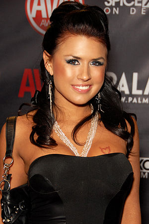 Eva Angelina - Angelina attending the AVN Awards Show at the Palms Casino Resort, Las Vegas, Nevada, January 2010