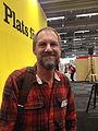 Författaren Per Gustavsson på Bokmässan 2013.jpg