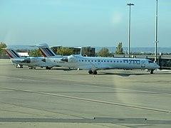F-GRJQ + F-GRZO - Lyon - 2011-11-11 - IMG 1154.JPG
