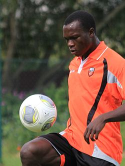FC Lorient - June 27th 2013 training - Vincent Aboubakar 1.JPG