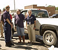 FEMA - 35620 - DHS Secretary Chertoff visits Iowa floods.jpg