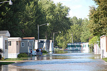 How do you find mobile home parks for people 55 and older?