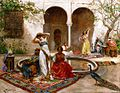 Fabio Fabbi - Dancing in the Harem Courtyard-24756213670.jpg