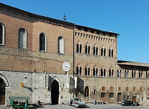 Santa Maria della Scala (Siena) - The entrance of the Hospital