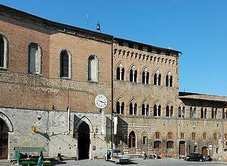 Santa Maria della Scala, Siena Hospital in Tuscany, Italy