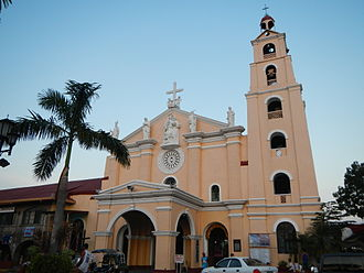 Hagonoy, Bulacan - Façade of the National Shrine of St. Anne