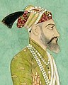Face detail, Aurangzeb holding a flywhisk (6124544937) (cropped) (cropped).jpg
