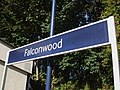 Falconwood station signage.JPG