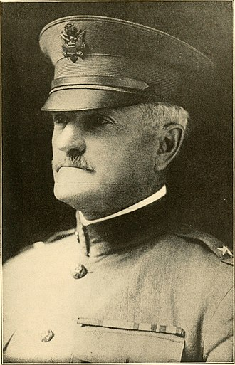 American Expeditionary Forces - American Expeditionary Forces Commander in Chief, Gen. John J. Pershing, 1917.