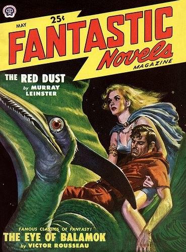 Fantastic Novels cover May 1949