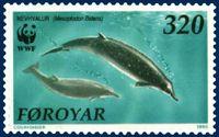 Faroe stamp 197 Mesoplodon bidens