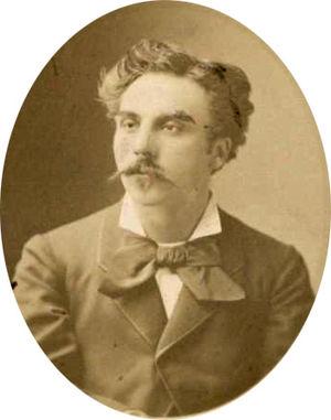 Gabriel Fauré - Fauré in 1875
