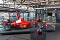 Ferrari F1-2000 and Japanese GP 2000 winner's trophy Michael Schumacher Private Collection.jpg